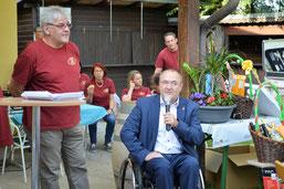 Stadtrat KR Albert Kisling mit Obmann Franz Weiss