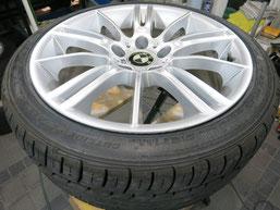 BMW335iの純正アルミホイールのガリキズ・すり傷のリペア(修理・修復)前のホイールBの写真