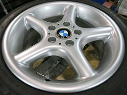 BMW Z3の純正アルミホイール4本のガリキズ・擦り傷・欠けのリペア(修理・修復・再生)後のホイール③の写真