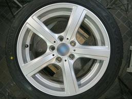 BMW Z4 のアルミホイールのガリキズ・擦り傷のリペア(修理・修復)後のホイール写真2