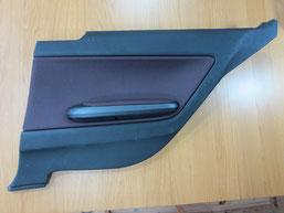 BMW318iのドア内張り(内装ドアノブ)の傷および塗装の剥がれ・めくれ・ベタつき・劣化のリペア(修理・修復)前の写真