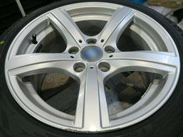 BMW Z4 のアルミホイールのガリキズ・擦り傷のリペア(修理・修復)前のホイール写真1