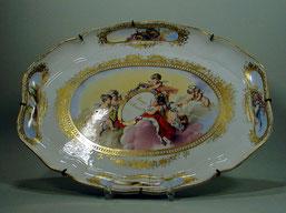 Platte, Meissen, um 1780 .