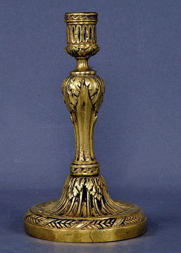 Leuchter, Bronze, deutsch oder französisch um 1800
