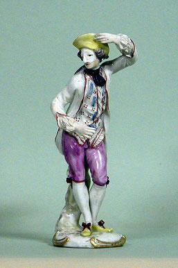 Tänzer mit Maske, Ludwigsburg, um 1760