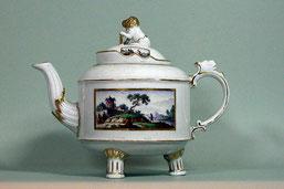 Teekanne, Ludwigsburg, um 1775
