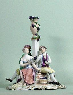 Jahreszeitengruppe, Porzellan, Ludwigsburg, um 1770