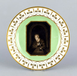 Bildteller, KPM-Berlin, um 1800