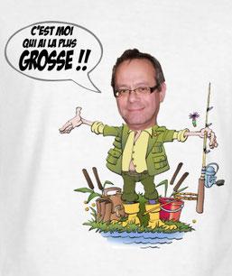 croquis humour de pêcheur