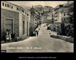 Anni '50 - Via Abenante (a sx BNL)