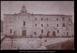Anni '20 Il convento dei Cappuccini