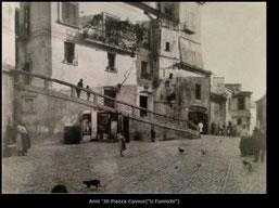 Anni '30 Piazza Cavour '(U Funnichi)