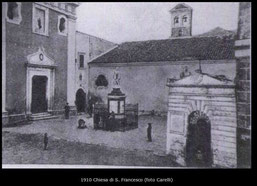 1910 Chiesa di S. Francesco (foto Carelli)