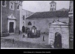 1910 Chiesa di S. Francesco (foto Carelli)