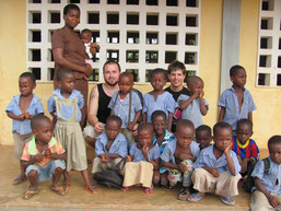 Christian, Jonas und Kinder