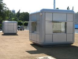 Kassenhaus im edlen Design