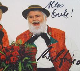 Autogramm für Jutta Rudolph von Wilfried Gliem
