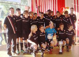 1. FC Kaiserslautern - Sieger des 11. Fraport Cups