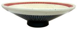 イングレ朱雅_10.0高台浅鉢