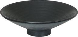 黒マット_10.0高台浅鉢