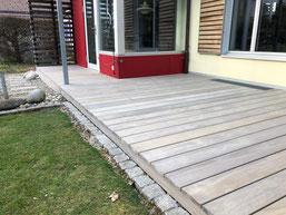 Terrassenboden Accoya vorvergraut  Maison Gürbetal, Toffen