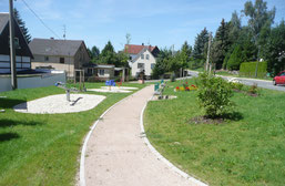 Platzgestaltung, Aufwertung und Entwicklung von Freiraumstrukturen - Erbschänke in Dennerhitz
