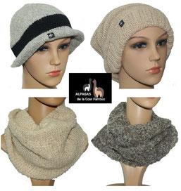 Vêtement en laine d'alpaga