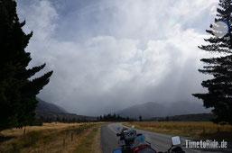 Neuseeland - Motorrad - Reise - Straße zum Lewis Pass