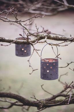 Stimmungsvolle Windlicher von Ib Laursen - skandinavische Weihnachten... in der Sternschnuppe home & garden in Eichelhardt