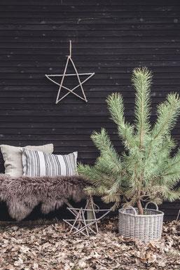 Deko am Holzschuppen kann skandinavisch schön sein... Ib Laursen, erhältlich in der Sternschnuppe home & garden