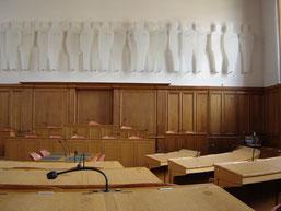 LA salle du Grand Conseil où siège le parlement cantonal : 115 députés élus pour quatre ans.