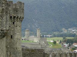 vue sur Castel Grande