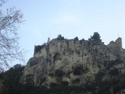 Ruines d'un château