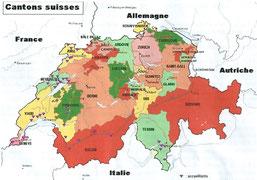 les cantons suisses