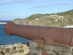 vestiges de la redoute de Mailly (XVIIIe siècle) en face de Fort Fanal