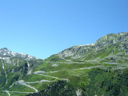 route vers le Grimselpass