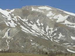 avant le col de Rioupes (1430m)