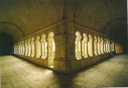 le cloître (XIIème s)