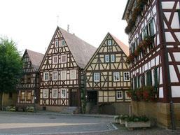 Fachwerkhäuser in der Marktstrasse
