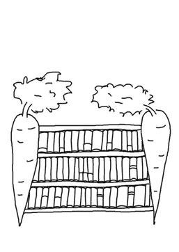 Trixilies Bücherbereich