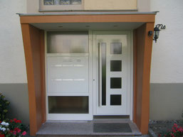 59 Haustüre in Wülfrath nachher