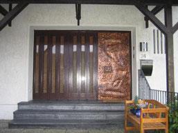 Haustüre in Heiligenhaus vorher