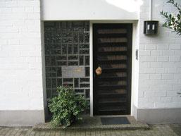 Haustüre in Wuppertal vorher