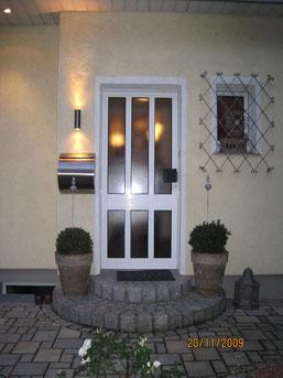 Haustüren in Remscheid vorher