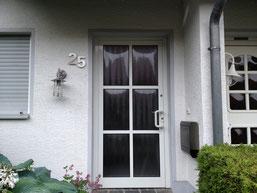 Haustüre in Wülfrath vorher
