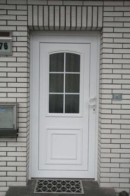Haustüre in Mettmann vorher