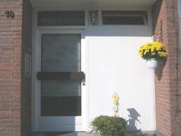 Haustüre in Tönisheide vorher