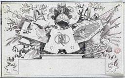 Claude Mellan Abbeville, 1598 – Paris, 1688 Frontispice pour Léonard Philaras
