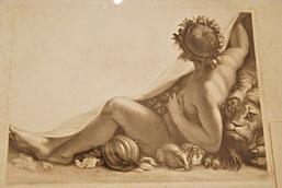 Emile Rousseaux, estampe d'après Edelinck, Musée Boucher-de-Perthes / Photo Yvan François