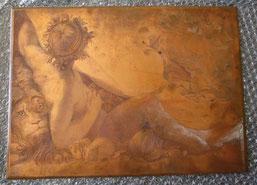 Emile Rousseau, étude, milieu XIXe siècle, cuivre gravé, Musée Boucher-de-Perthes, Abbeville/ in peccadille.net